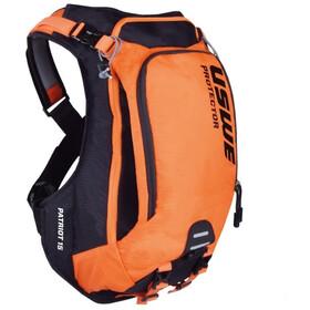 USWE Patriot 15 Protector Backpack black/orange